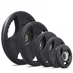 BodyMax Olympic Rubber Radial Weight Disc Plates