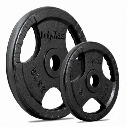 BodyMax Olympic Cast Iron Tri-Grip Weight Disc Plates