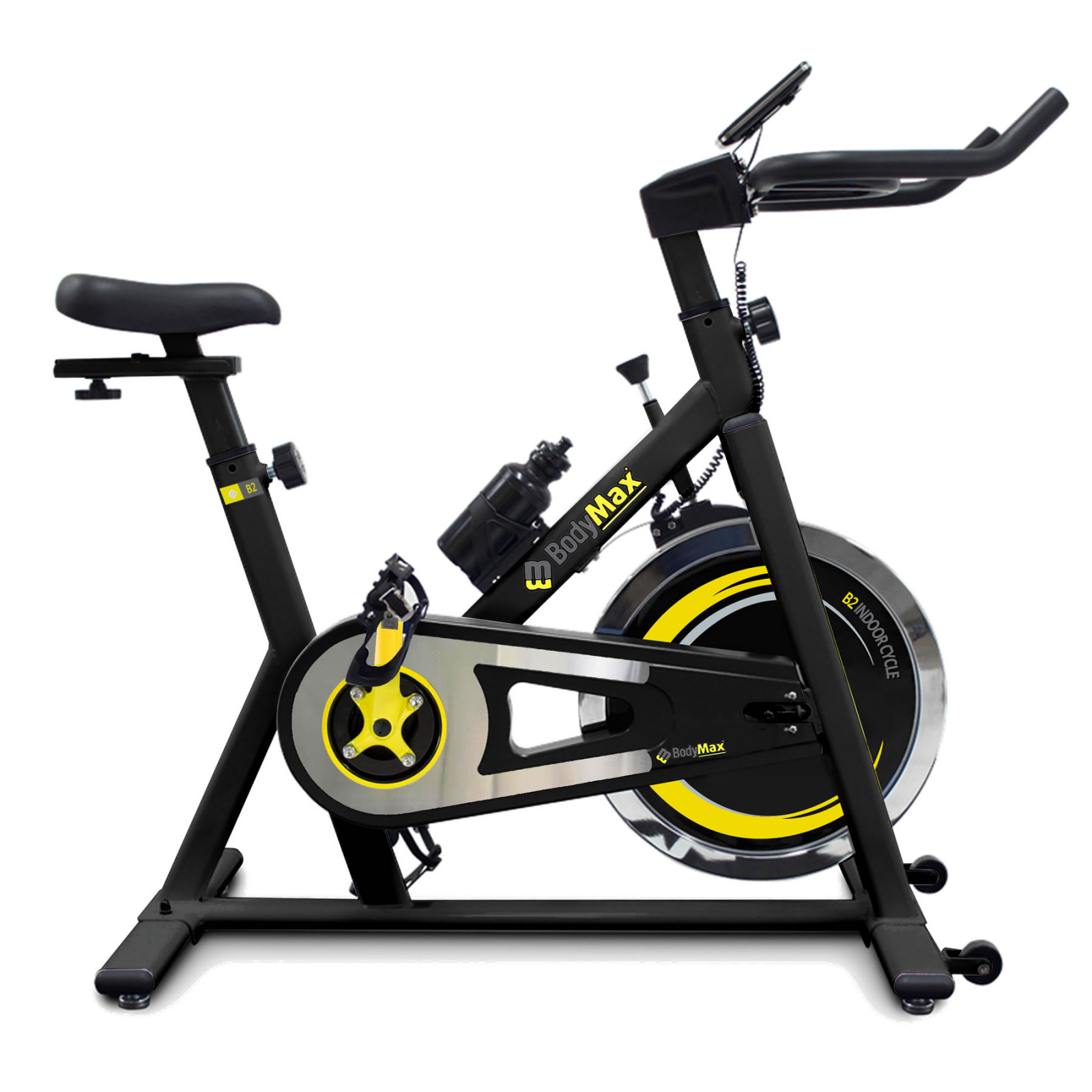 Bodymax B2 Indoor Studio Cycle Exercise Bike Black Free Lcd Monitor Shop Online Powerhouse Fitness