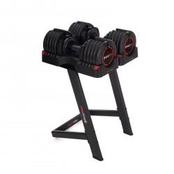 BodyMax V2.0 25kg Selectabell 15-in-1 Dumbbells V2.0 - PAIR with STORAGE RACK
