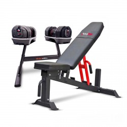 BodyMax 36Kg Selectabell 18-in-1 Dumbbell (Pair) Package