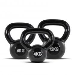 BodyMax 24kg Cast Iron Kettlebell Set