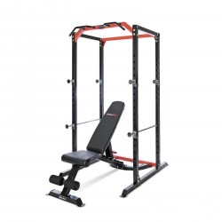 BodyMax CF385+ Power Rack & CF328+ Utility Bench