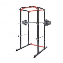 BodyMax CF385+ Power Rack & 95kg Cast Iron Olympic Weight Kit