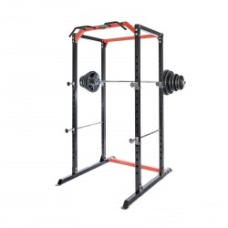 BodyMax CF385+ Power Rack & 95kg Rubber Olympic Weight Kit
