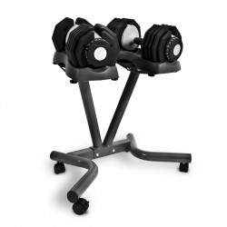 BodyMax 25kg Selectabell Dumbbells (Pair) and Stand