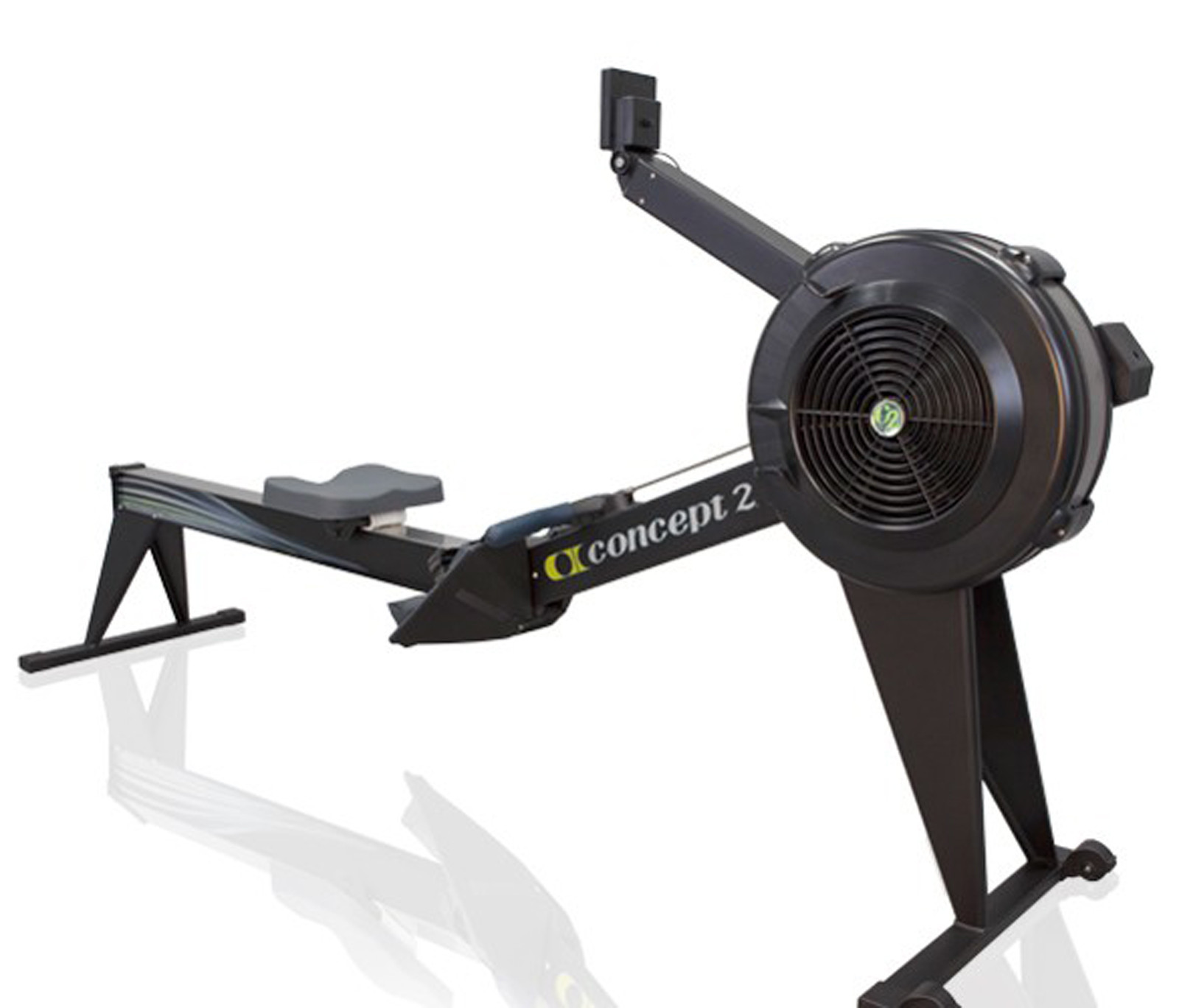 Used Concept 2 Rower >> Concept 2 Rowing Machine Model E With Pm5 Black
